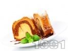 Рецепта Пухкав кекс, двуцветен, с прясно мляко, ванилия и какао